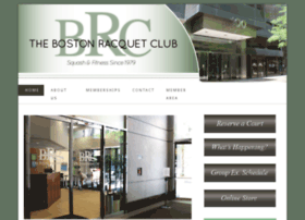 thebostonracquetclub.com