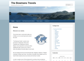 thebowmanstravels.co.uk
