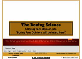 theboxingscience.com
