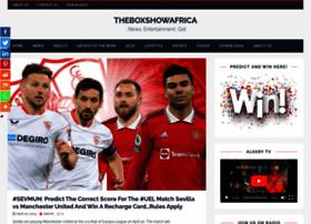 theboxshowafrica.com