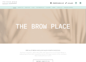 thebrowplace.co.uk