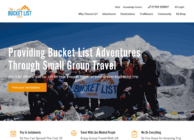 thebucketlistcompany.co.uk