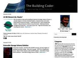 thebuildingcoder.typepad.com