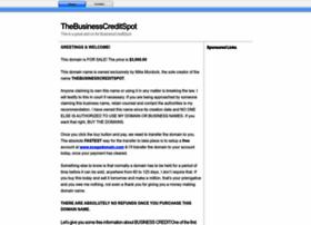 thebusinesscreditspot.com