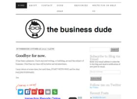 thebusinessdude.net