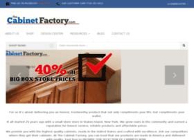 thecabinetfactory.com