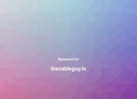 thecableguy.tv