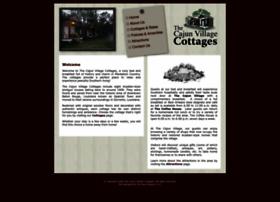 thecajunvillagecottages.com