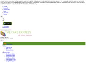 thecakeexpress.com