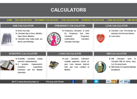 thecalculator.in