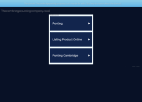 thecambridgepuntingcompany.co.uk