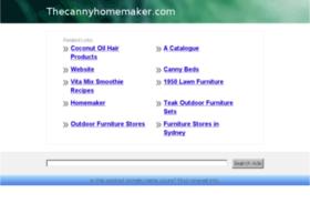 thecannyhomemaker.com