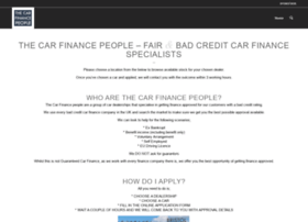 thecarfinancepeople.com