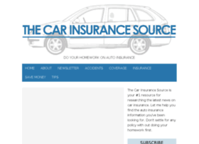 thecarinsurancesource.com