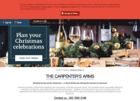 thecarpentersarmsw1.co.uk