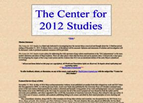 thecenterfor2012studies.com