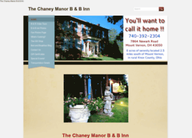 thechaneymanorbb.com