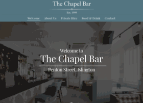 thechapelbar.co.uk