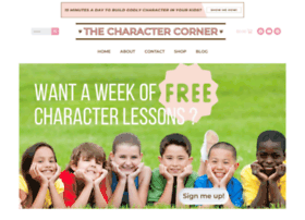 thecharactercorner.com