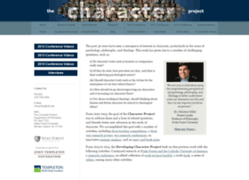thecharacterproject.com