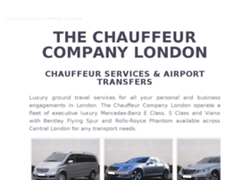 thechauffeurservices.co.uk