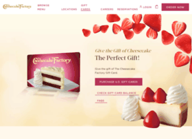 thecheesecakefactory.cashstar.com