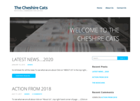 thecheshirecats.co.uk