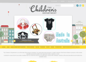thechildrensdepartment.com.au