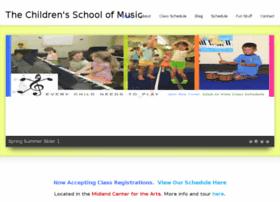 thechildrensschoolofmusic.com