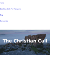 thechristiancall.com