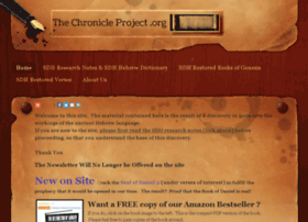 thechronicleproject.org