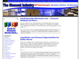 thecloseoutindustry.com