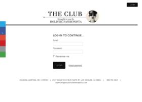theclub.holisticfashionista.com