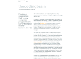 thecodingbrain.wordpress.com