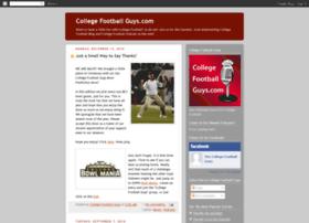 thecollegefootballguys.blogspot.com