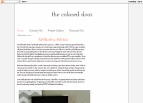 thecoloreddoor.blogspot.com