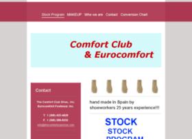 thecomfortclubshoe.com