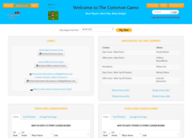 thecommongame.com