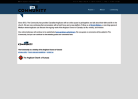 thecommunity.anglican.ca
