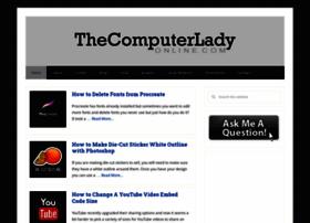 thecomputerladyonline.com
