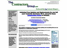 thecontractorsgroup.com