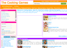 thecookinggames.com