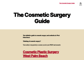 thecosmeticsurgeryguide.org