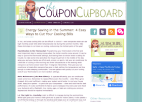 thecouponcupboard.com