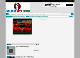 Thecricketlivescore.com