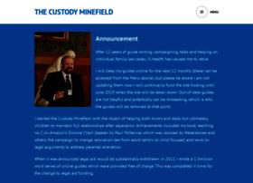 thecustodyminefield.com