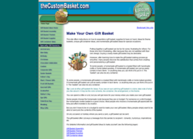 thecustombasket.com