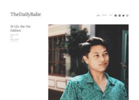 thedailybalie.com
