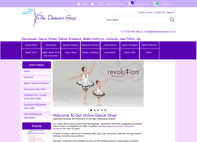 thedancersshop.co.uk