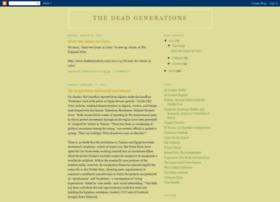 thedeadgenerations.blogspot.fr
